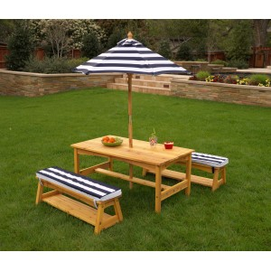 Kidkraft Outdoor Chaise With Umbrella Kidkraft Kids Outdoor