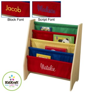 Kidkraft Sling Bookshelf in 3 colours