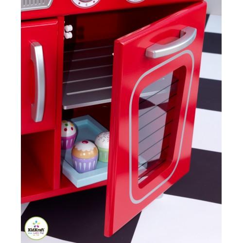 Kidkraft Vintage Kitchen Red Uk