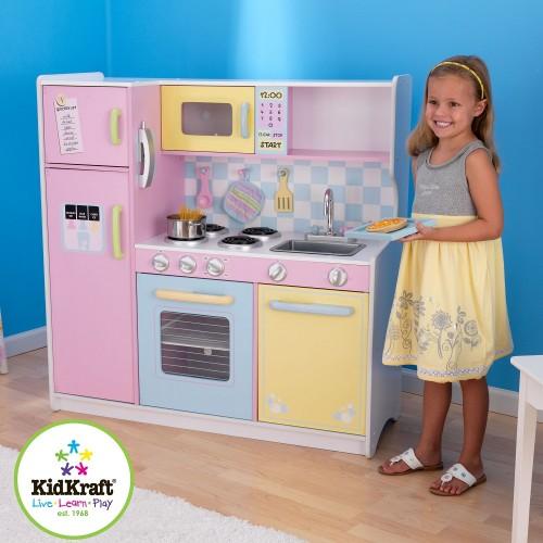 Kidkraft Deluxe Pastel Kitchen