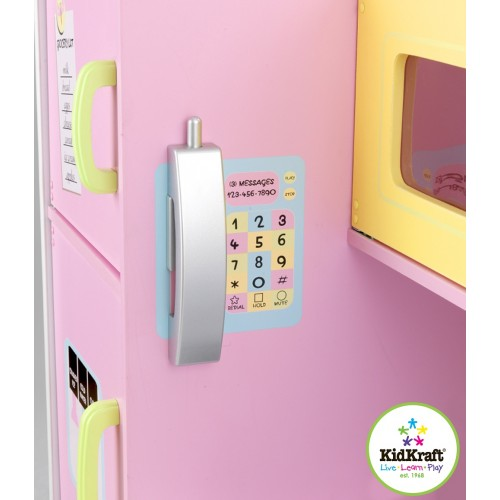 Kidkraft Deluxe Pastel Kitchen Kidkraft Uk