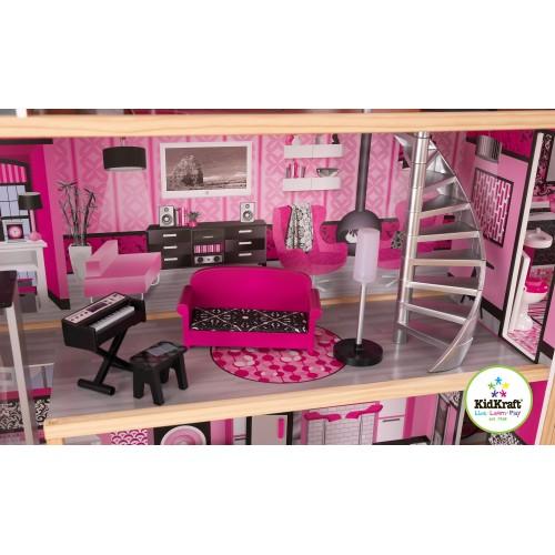 Kidkraft Sparkle Mansion Dollhouse Wooden Dollhouses Kidkraft Uk
