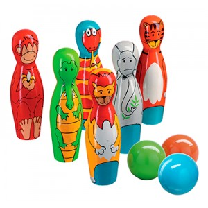Lanka Kade wooden Jungle Skittles