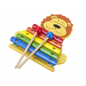 Lion Xylophone Orange Tree Toys