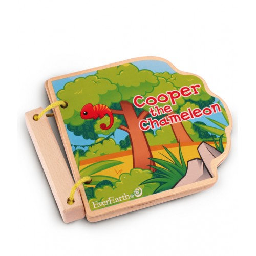 EverEarth Safari Wooden Book