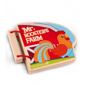 EverEarth Farm Wooden Book