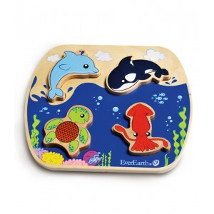 EverEarth Ocean Wooden Puzzle