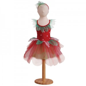 Strawberry Fairy Dress Costume