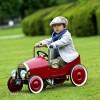 Baghera Classic Red Metal Pedal Car