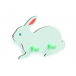 Djeco Wooden Rabbit Coat Hook