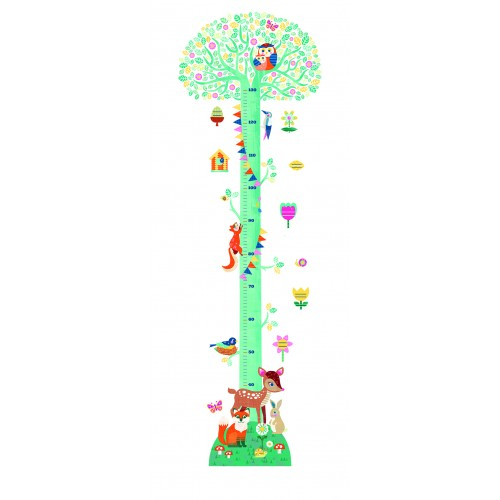 Djeco Forest Friends Height Chart