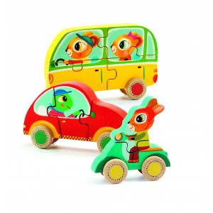 Djeco Jake and Co Set of Puzzles