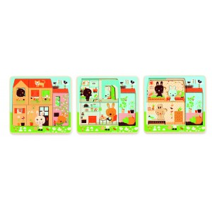 Djeco Chez-carot Multi Layer Puzzle