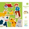 Djeco Magnetic Farm Characters