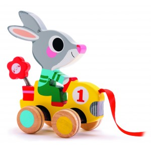 Djeco Roulapic Rabbit Pull Along