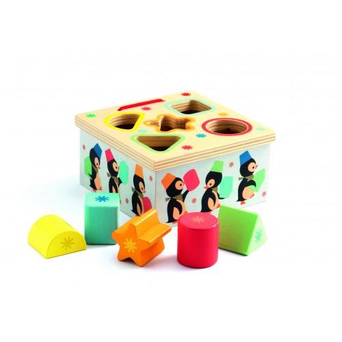 Djeco Geo Junzo Shape Sorting Box