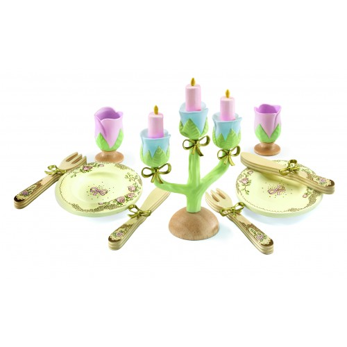 Djeco Princess Dishes Tea Set