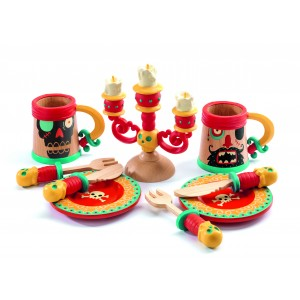 Djeco Pirate Dishes Dinner Set