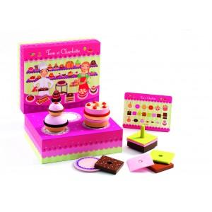 Djeco Tom and Charlotte Cake Set