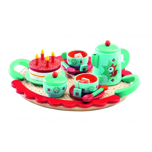 Djeco Fox's Tea Party and Cake Set