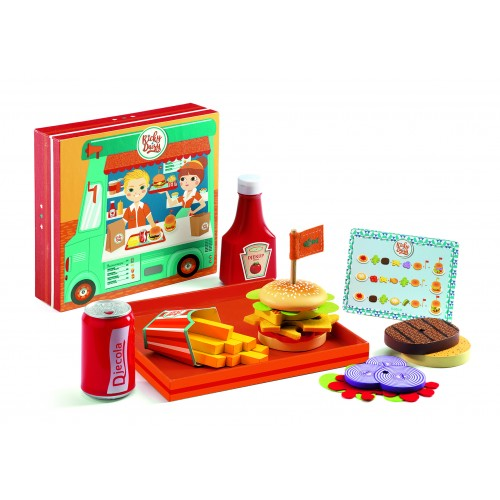 Djeco Ricky and Daisy Burger Play Set