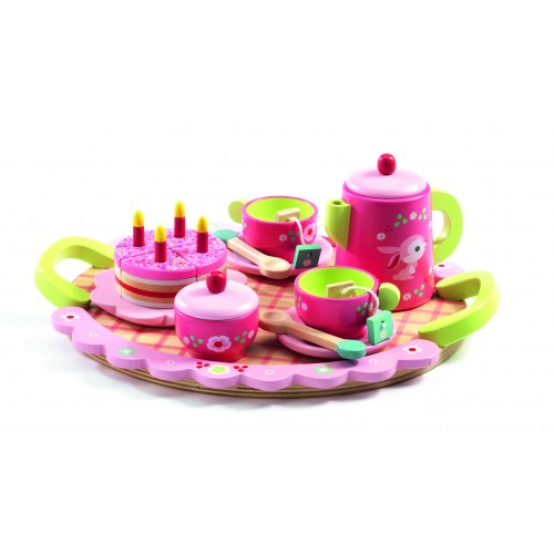Djeco Lili Rose's Tea and Cake Set