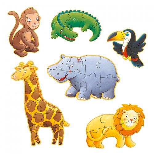 Djeco Giant Animal Jigsaw Marmoset and Friends