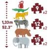 Djeco Giant 6 Puzzle Animal Friends Jigsaws