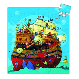 Djeco Barbarossa's Boat Jigsaw