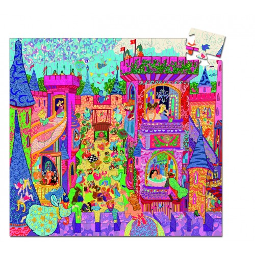 Djeco The Fairy Castle Jigsaw
