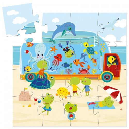Djeco The Aquarium Jigsaw Puzzle