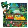 Djeco The Locomotive Train Jigsaw Puzzle