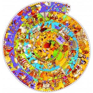 Djeco History of the World Jigsaw