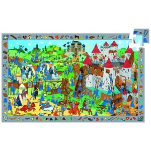 Djeco Knights Jigsaw Puzzle