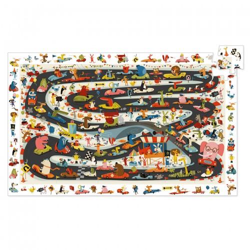 Djeco Car Rally Jigsaw Puzzle
