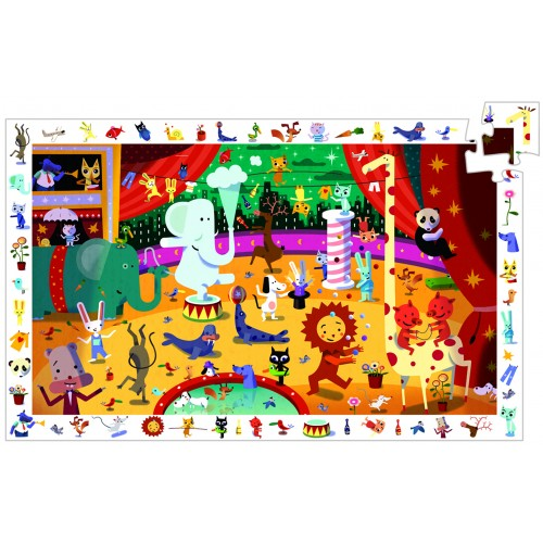 Djeco Animal Circus Jigsaw
