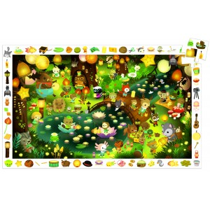 Djeco Party In The Forest Jigsaw