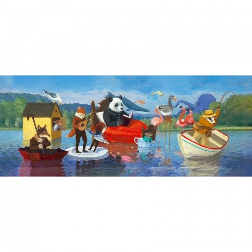 Djeco Summer Lake Gallery Jigsaw Puzzle