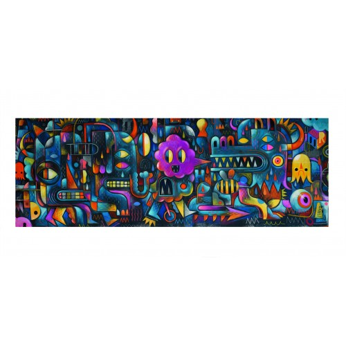 Djeco Monster Wall Jigsaw Puzzle Gallery