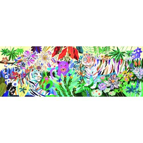 Djeco 1000 piece Rainbow Tigers Jigsaw Puzzle