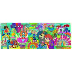 Djeco Magic India Gallery Jigsaw Puzzle