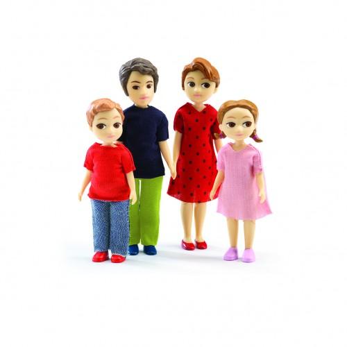Djeco Doll Family Thomas and Marion