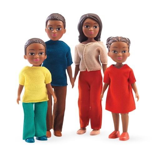 Djeco Doll Family Milo and Mila
