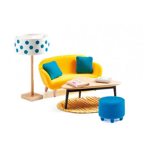 Djeco Petit Home Living Room Furniture Set