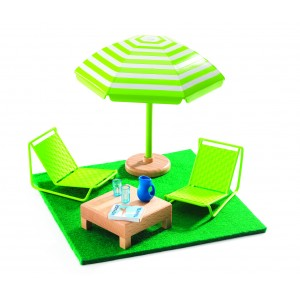 Djeco The Terrace Patio Set