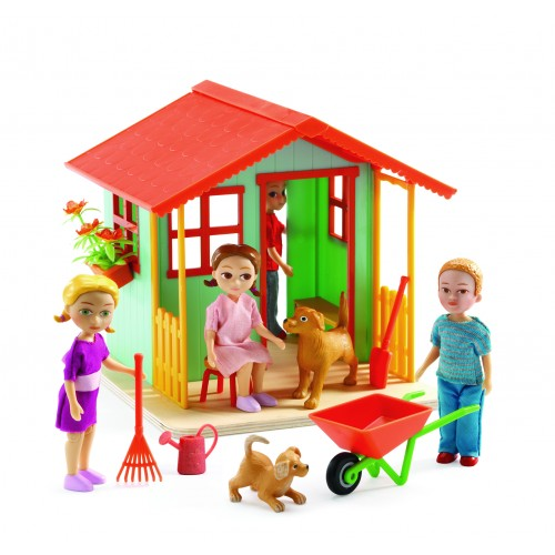 Djeco Doll Garden House