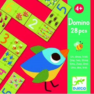 Djeco 1-2-3 Domino Game