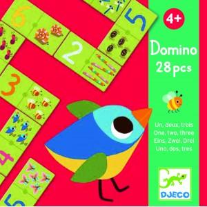 Djeco 1-2-3 Domino Game