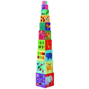 Djeco Nature Stacking Cubes