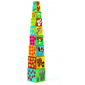 Djeco My Friends Stacking Cubes
